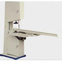 Cheap Manual Band Saw Toilet Paper Cutting Machine , Toilet Paper Roll Cutting Machine wholesale