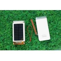 Ultrathin Solar Powered Battery Charger With Micro Solar Panel 6000mah 8000mah