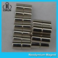 Cheap Long Life N40H Neodymium Permanent Magnets Cylinder For Medical Products wholesale