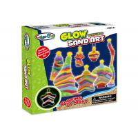 Cheap Educational DIY Glow Sand Arts And Crafts Toys / Children Learning Kits W / Bottles wholesale