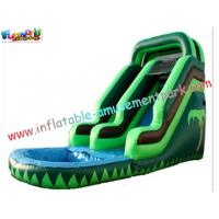 Cheap Kids Play Toys Big Commercial Outdoor Inflatable Backyard Water Parks Slides for re-sale wholesale