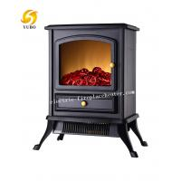 Cheap Energy Saving European Electric Fireplace Stove Heater For Apartment Hall wholesale