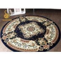 Various Styles Anti Static Round Area Rugs Persian Style Slip Resistant