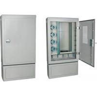 Buy cheap SMC Outdoor Fiber Optic Termination Cable Cabinet IP65 With Splicing Tray from wholesalers