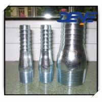 Galvanized King Nipple ZInc Plated Combination Nipple