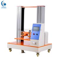 China Corrugated Box Paper Core Compression Strength Tester 100mm / Min Return Speed on sale