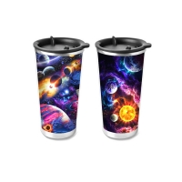 Cheap 450ml PP Cup 3D Lenticular Printing Service For Promotion Gifts wholesale