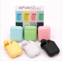 Cheap ABS Material Waterproof Tws Earbuds Inpods 12 Touch Control For Mobile Phone wholesale