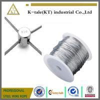 Cheap Stainless Steel Wire rope For Stainless steel wire rope cross clamp wholesale
