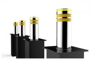 Cheap PLC Controlled 300W 8K Mirror Automatic Rising Bollards wholesale