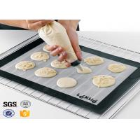 Cheap PTFE Non Toxic Baking Sheet BBQ Heat Proof Silicone Mat wholesale