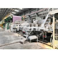 Cheap 220V / 380V Recycling Tissue Paper Making Machine Large Size With Headbox wholesale