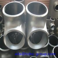 Cheap Stainless Steel Pipe Tee A403 Wp304L Straight Tee Asme B16.9 Size 1/2 - 60 inch wholesale