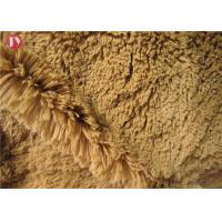 "Cheap popular Light Brown Plush Toy Fabric Tricot Knitted For Soft Toys 58/60"" 150cm wholesale"