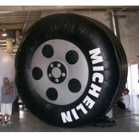 Cheap inflatable advertising car tire / inflatable promotion products wholesale