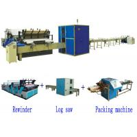 Cheap Full Automatic High Speed Small Toilet Paper Roll Production Line wholesale