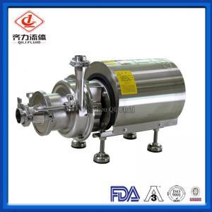 Cheap Food Grade Sanitary Centrifugal Pump Self Priming Low Pressure EPDM Seal wholesale