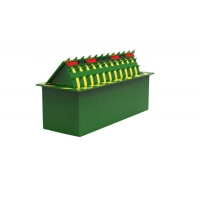 Cheap Steel 6m Lenght 3.7KW 80T Loading Hydraulic Road Barriers wholesale