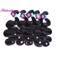 China SGS No Chemical Customized #2 Body Wave Indian Hair on sale