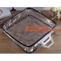 Cheap Eco-friendly wholesale travel cosmetic bag clear zipper pvc cosmetic bag for women wholesale