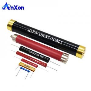 Cheap 5W 8W 10W 15W 20W 30W 50W 80W 100W 150W 200W 300W 400W 500W High Voltage Resistor wholesale