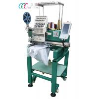 Cheap Single Head Computerized T-shirt Embroidery Machine With Single Sequin Device wholesale