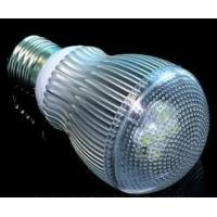 China AC100V~240V 1-3W E14 / E27 Household Led Bulbs with 3year warranty,no infrared radiation on sale
