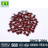 Quality Tiny Flat Hotfix Glass Rhinestones High Color Accuracy With Even Facets for sale