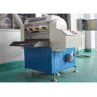 China 4 Functions CNC Automatic Rubber Cutting Machine High Efficiency PLC And HMI Control on sale