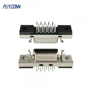 Cheap 180 Degree PCB Straight Mount SCSI 20P Female Servo Connector wholesale