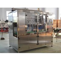 Cheap Linear Oil Filling Machines , Pesticides Filling Machine Price wholesale