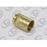 Cheap Brass Female Union Nipple High Precision Machining Parts With Pickling Surface wholesale