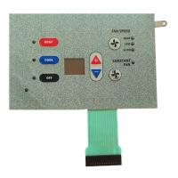 Cheap IP65 LED Metal Dome Membrane Switch Perfect Exterior Pillow Embossed PET wholesale
