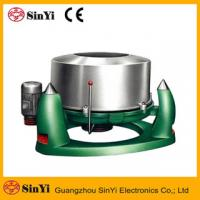 Cheap (TS)Industrial stainless steel Commercial Hotel Laundry spining hydro extractor Clothes Dewatering Machine wholesale