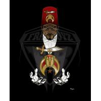 Cheap Professional Vector art Shriners Photo for Digital Embroiderers, Web Designers wholesale