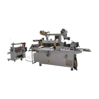 Cheap Mylar and Diffuser flatbed Die Cutting Machine with Laminating & Sheeting Function fabric die cutting machine wholesale