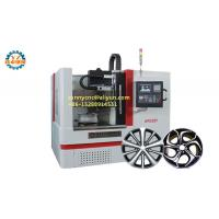 Cheap Precision Horizontal Flat Bed CNC Lathe Alloy Wheel Repair CNC Machine wholesale