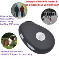 Cheap Mini Waterproof 3G GSM Personal GPS Tracker Locator Elderly Fall Detection SOS Communicator Alzheimer Keyring EV07 wholesale