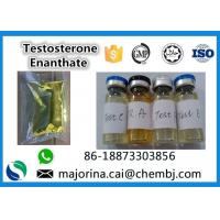 Buy cheap Testosterone Enanthate / Test E Injectable Muscle Building Steroid White from wholesalers