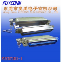 Cheap DDK Solder Pin Centronic Ribbon Cable Connector With Matel Cover wholesale
