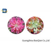 Cheap Home Decoration 3D Lenticular Coasters Cup Placemat Beautiful Flower Pattern wholesale