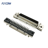 Cheap MDR 180 Degree Straight PCB Mount SCSI Female 50P Servo Connector wholesale