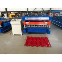 Cheap 5.5kw Glazed Tile Forming Machine , High Speed Roof Tile Manufacturing Machine wholesale