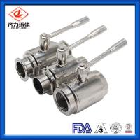 Cheap Mini Full Bore Ball Valve Pneumatically Actuated  Beverage Industries Use wholesale