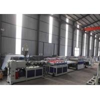 Cheap 380V 50HZ WPC Board Production Line For Furniture 1 Year Warranty wholesale