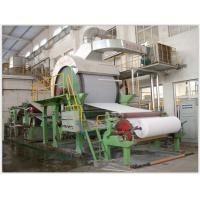China Width 1900mm Toilet Paper Making Machine , Speed Control Craft Paper Making Machine on sale