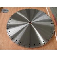 Cheap 20 , 30 , 42 Inch Laser Saw Cutting Blades For Reinforce Concrete With Protect Teeth wholesale