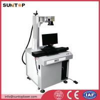 Cheap Bath room and kitchen products fiber laser marking machine with laser power 20W wholesale