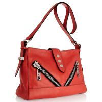 Cheap Fresh Red Lady Cross Body Bag , Standard MOQ is 50 For Womens Leather Handbags wholesale