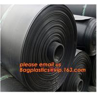 Cheap 0.8mm pond liner hdpe fish pond geomembrane,Composite Geomembrane for fishing pond,Polyester Needle Punched Nonwoven Geo wholesale